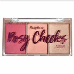 Paleta de Blush Rosy Cheeks Ruby Rose Cor 2