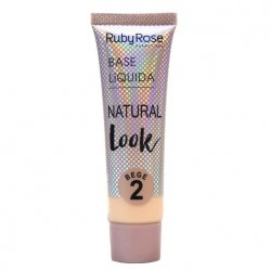 Base Líquida Natural Look Ruby Rose Bege 02