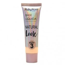 Base Líquida Natural Look Ruby Rose Bage 03